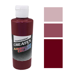 322042. Createx 5124, Transparent - Deep-Red, 120 мл